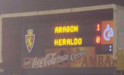 ARAGÓN 1 - HERALDO 0 (patatero)